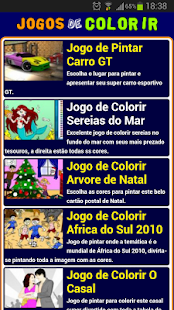 Jogos de colorir - screenshot thumbnail