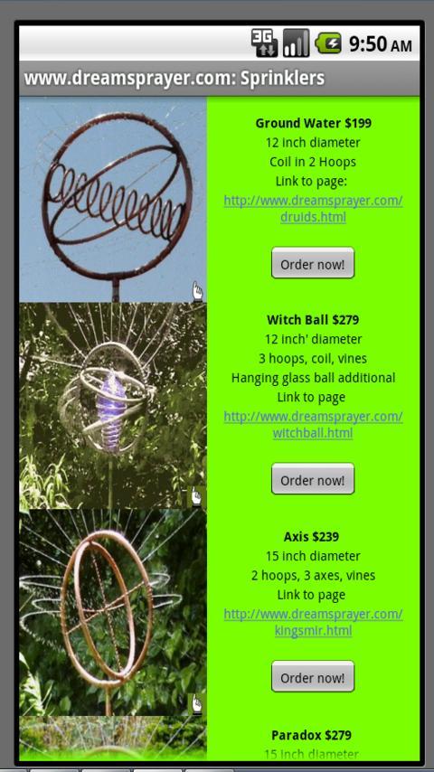 Copper Sprinklers- screenshot