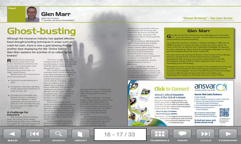 Insurance People Magazine- screenshot