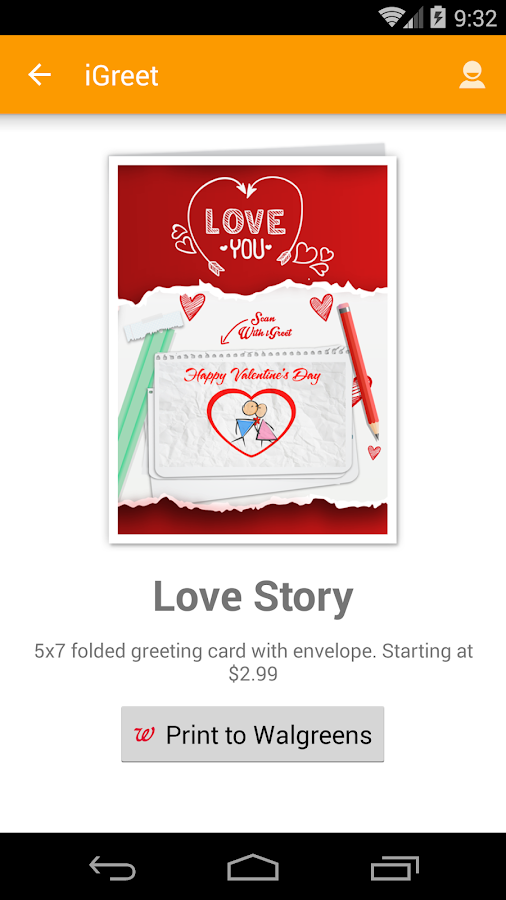 iGreet - AR Greeting Cards- screenshot