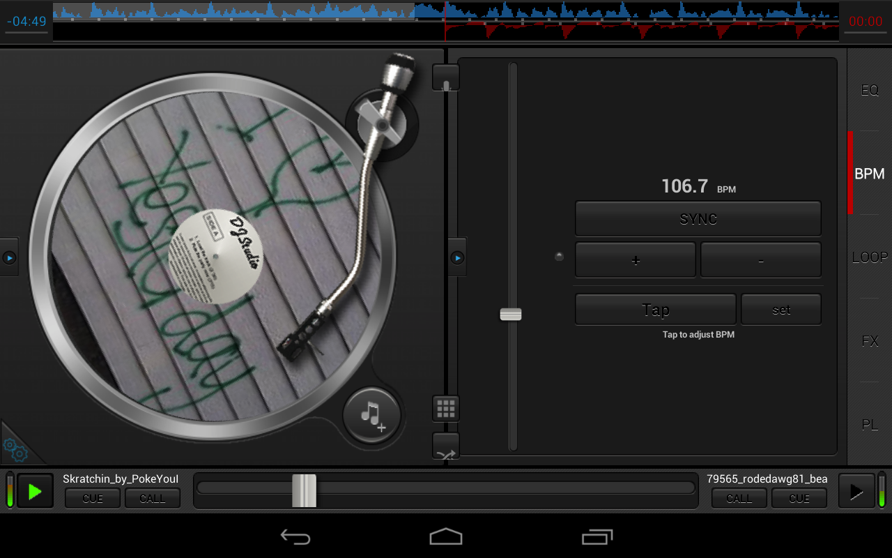 DJ Studio 5 - Free music mixer - screenshot