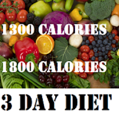 1300 and 1800 Calories Diets