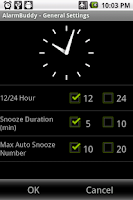 Screenshot of AlarmBuddy - Great Alarm Clock