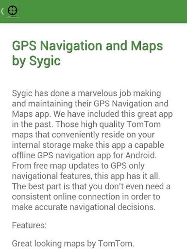 GPS Navigation Offline