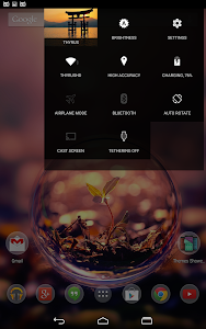 DarkMTRL ThyrusHolo CM11 Theme v3.5