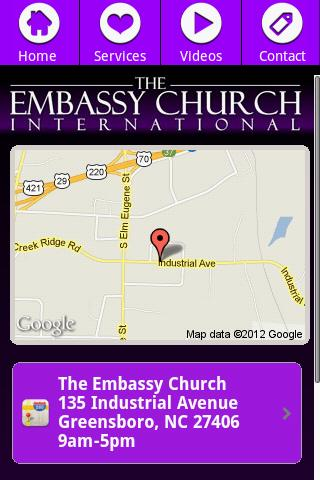 The Embassy Church- screenshot