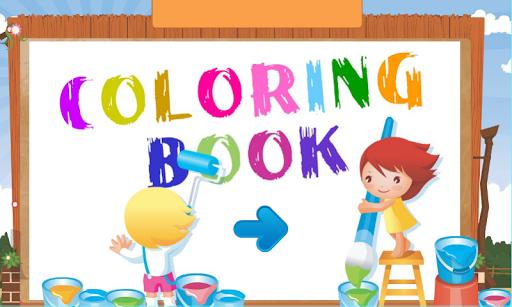 Coloring Book - Cartoon