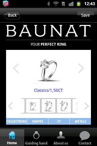 BAUNAT Perfect Ring Finder - screenshot
