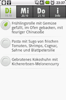 Screenshot of Mensa Hof