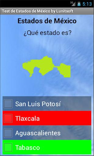 Geografía de México Estados