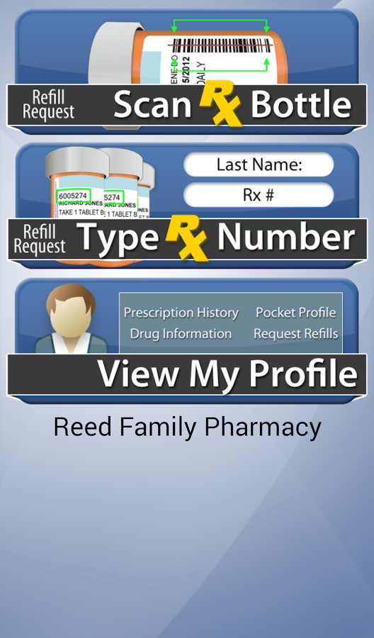Reed Family Pharmacy- screenshot