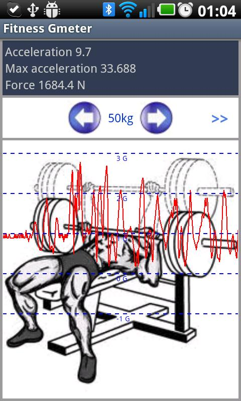 Fitness Power Meter - screenshot
