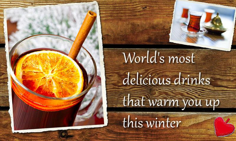 Christmas Recipes; Hot Drinks- screenshot