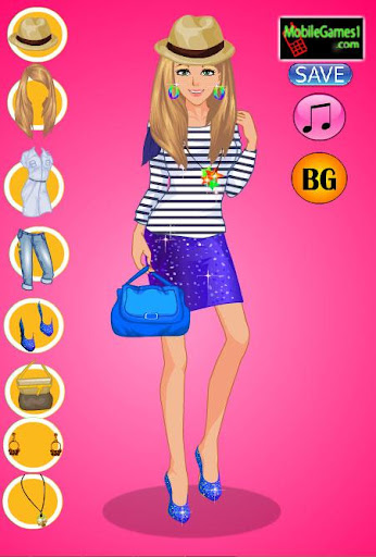 【免費休閒App】College Girl Dress up game-APP點子