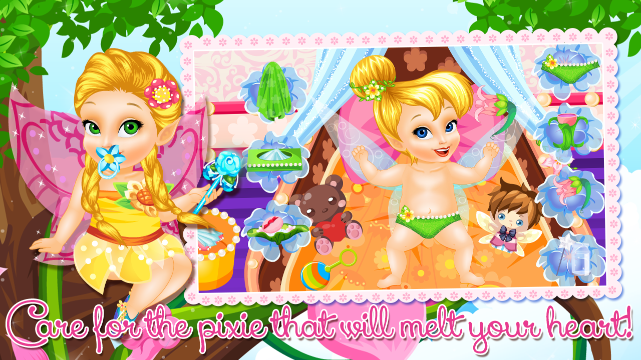 Baby Tinkerbell Care Apl Android Di Google Play