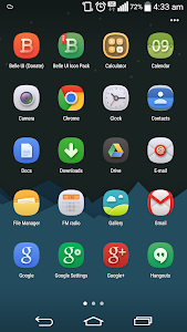 Belle UI (Donate) Icon Pack v1.9.6