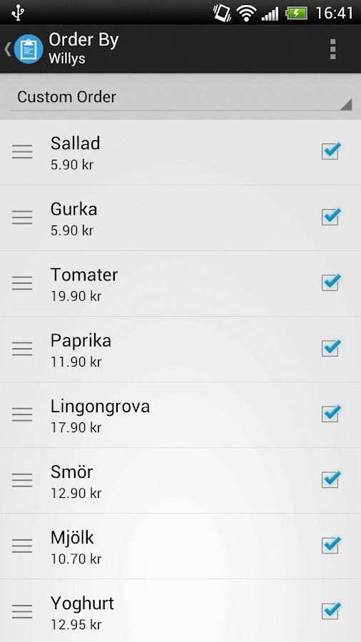 Shopping List Pro- screenshot
