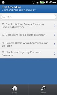Legal Dictionary for DroidLaw- screenshot thumbnail