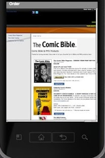 Comic Bible Mag- screenshot thumbnail