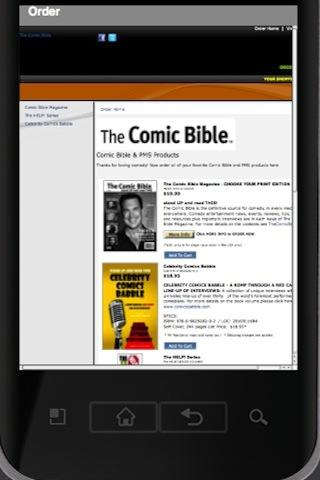 Comic Bible Mag- screenshot