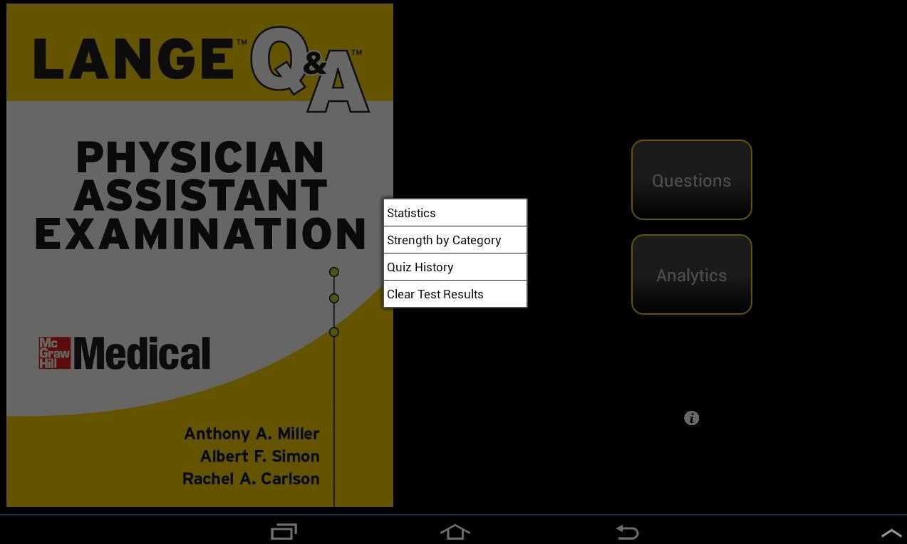 Physician Assistant LANGE Q&A - screenshot