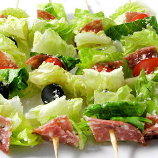Low Carb Salad on a Stick, Italian-Style