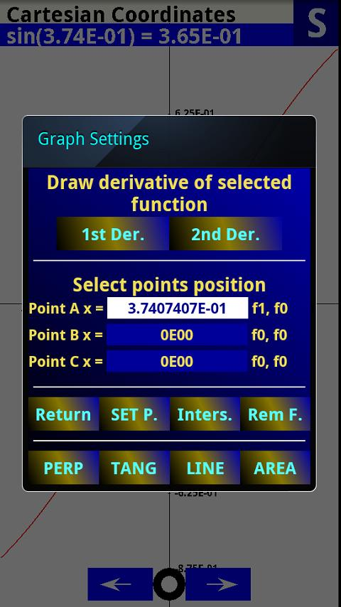 Scientific Graphing Calculator - screenshot