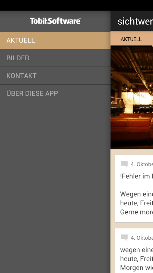 Restaurant Sichtwerk - screenshot