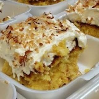 BEST Pina Colada Cake EVER!.