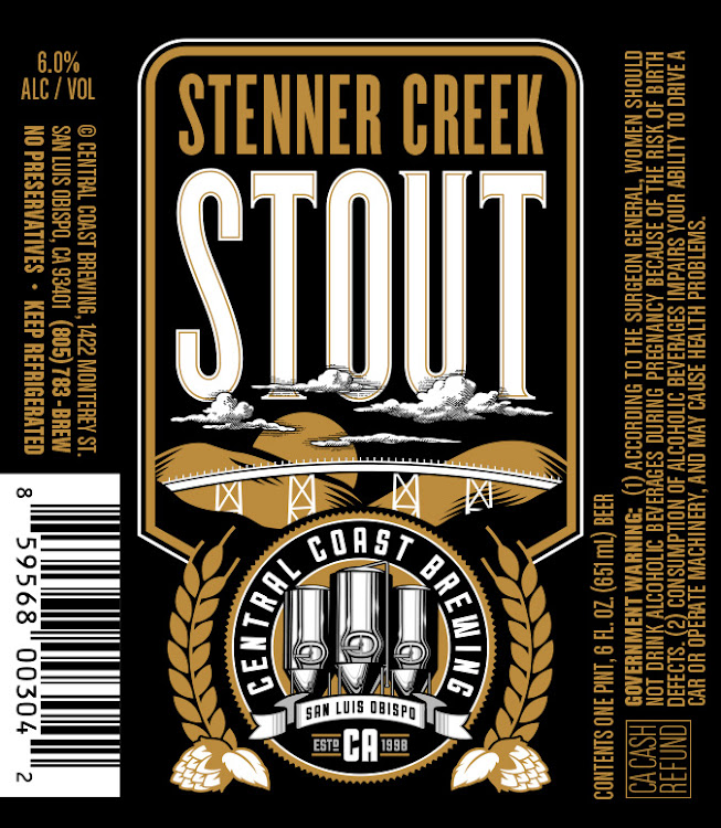 Logo of Central Coast Brewing Stenner Creek