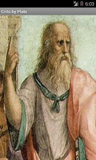 Listen Read Crito by Plato