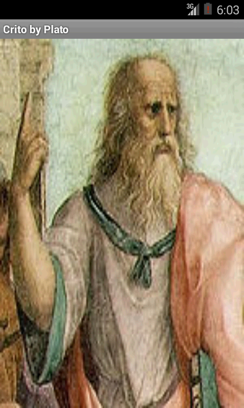 crito by plato Crito is a dialogue by the ancient greek philosopher platoit is a conversation between socrates and his wealthy friend crito regarding justice, injustice, and the appropriate response to injusticesocrates thinks that injustice may not be answered with injustice, and refuses crito's offer to finance his escape from prison.