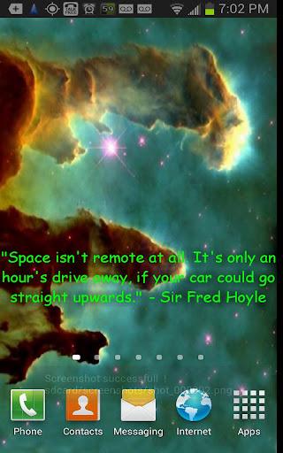 Hubble Scenes Quotes