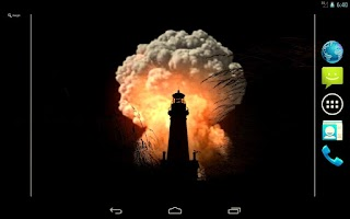Screenshot of The BOMB Live Wallpaper Free