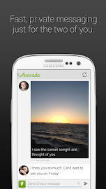 Avocado - Chat for Couples Screenshot 2
