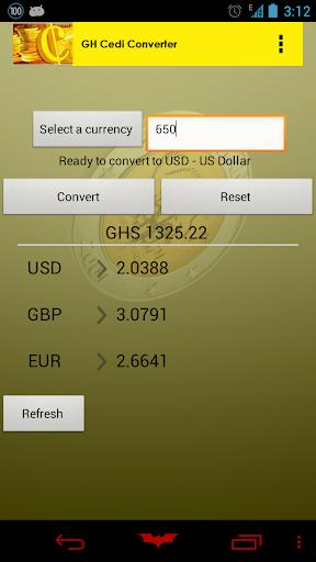 【免費工具App】Ghana Cedi Converter-APP點子