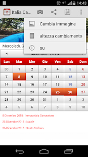 Italia Calendario 2015 - screenshot thumbnail