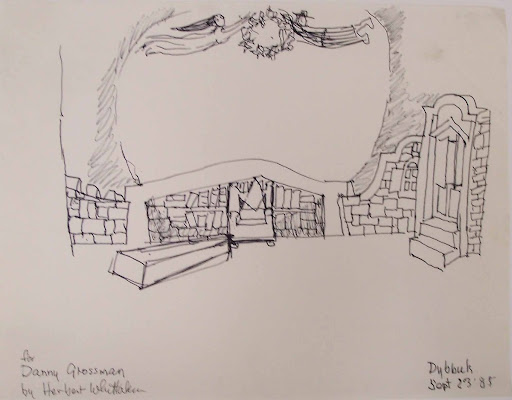 Set Design: THE DYBBUK
