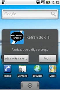 Refraneiro Galego- screenshot thumbnail