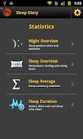 Screenshot of Sleep Diary Pro