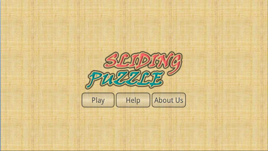 Screenshots for Sliding Puzzle World