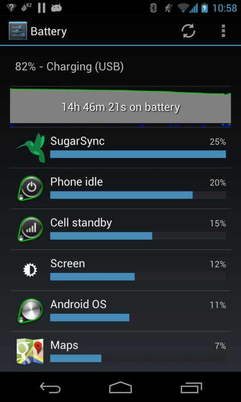 GreenPower Free Battery Saver- screenshot