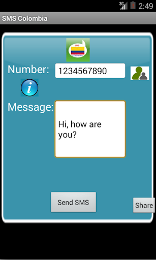 Free SMS Colombia