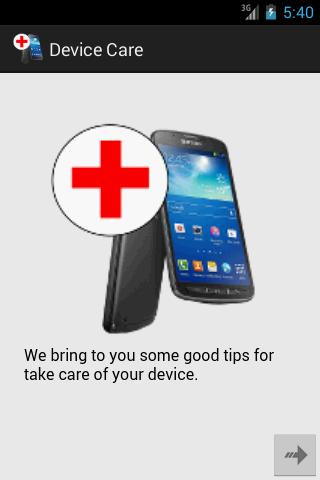Device Care