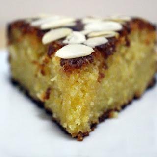 Gluten Free Orange Polenta Cake.