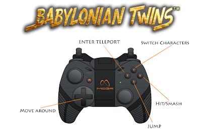 Babylonian Twins Platform Game Screenshot 3