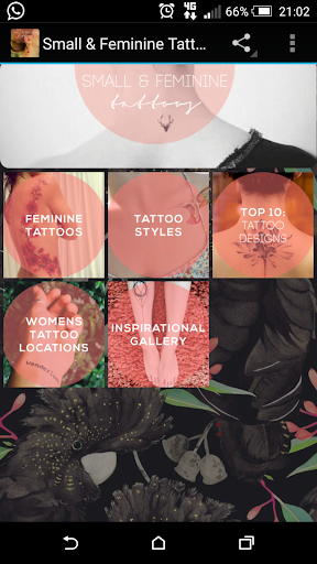 Small Feminine Tattoos