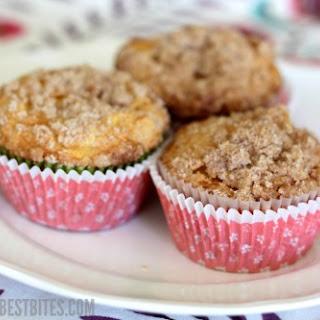 Apple Cinnamon Coffee Cake Muffins.