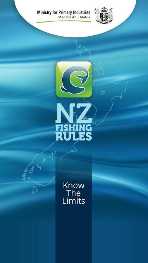 NZ Fishing Rules - screenshot