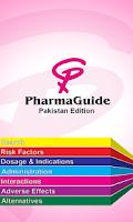Screenshot of PharmaGuide Pakistan